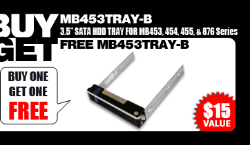 Buy one get one free (MB453TRAY-B) - $15 Value