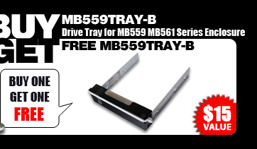 Buy one get one free (MB559TRAY-B) - $15 Value