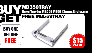 Buy one get one free (MB559TRAY) - $15 Value