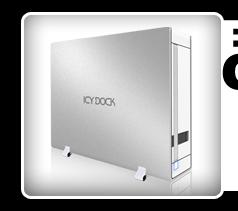 ICYBento MB559U3S-1S Slim USB 3.0 & eSATA External HDD Enclosure