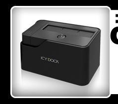 "EZ-Dock MB981U3S-1S 2.5""/3.5"" USB 3.0 & eSATA HDD Docking Station"