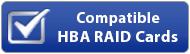 Logo Cartes RAID HBA compatibles