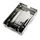 EZConvert Air Lite MB482SP-3B Top-Free Open Air 2.5' to 3.5' SATA HDD/SSD Converter/Mounting Kit