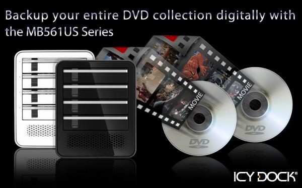 Sauvegardez vos collections de DVD avec série MB561US