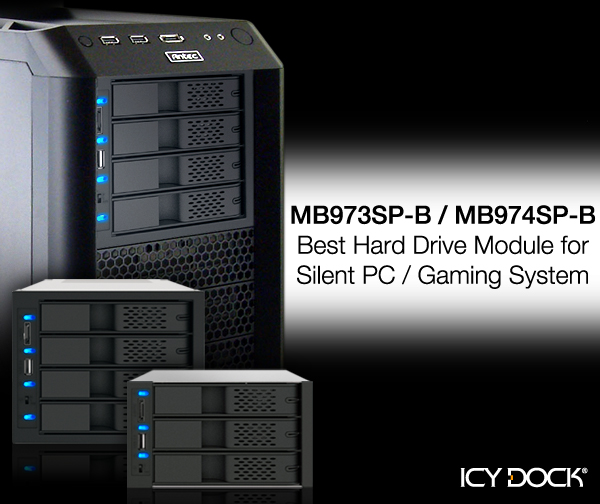Icy Tip Best Hard Drive Module For Silent Pc Gaming