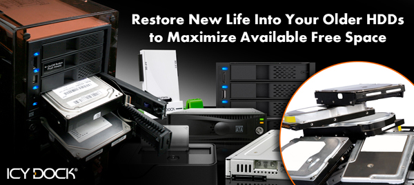 Restore New Life Into Your Older Hard Drives to Maximize Available Free Space