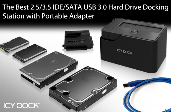 Icy Tip The Best 2 5 3 5 Ide Sata Usb 3 0 Hard Drive Docking