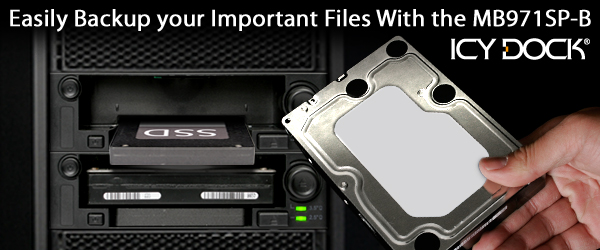 Easily Backup your Important Files With the MB971SP-B
