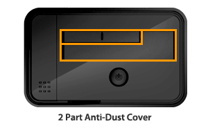 MB981U3-1SA Dust Cover View