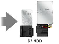 MB981U3-1SA - 2.5' & 3.5' IDE Hard Drive Adapter