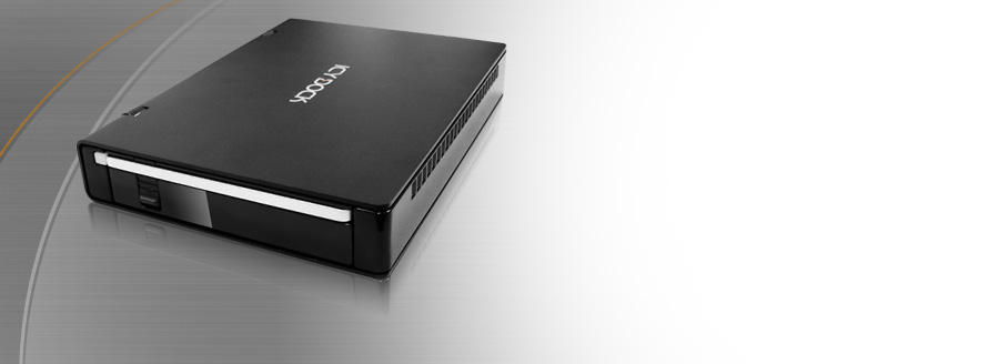 ICYBento MB559U3S-1SB Slim USB 3.0 & eSATA External HDD Enclosure