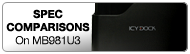 logo comparaison des stations d'accueil USB 3.0