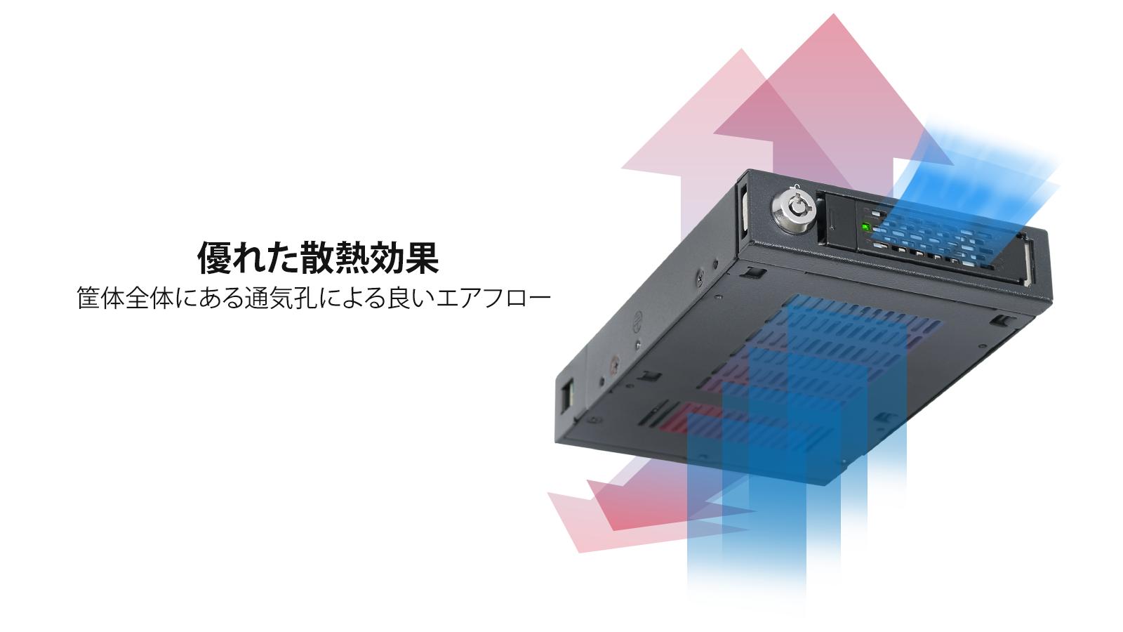 mb601vk-1b 効率的な冷却性能