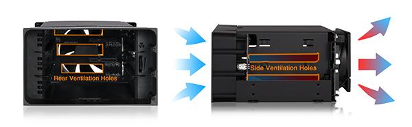 mb830sp-b 効率的な冷却性能