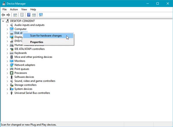 Résultat de l'image pour le balayage du lecteur de disque pour les changements de matériel