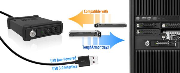 Photo des différents plateaux ToughArmors compatibles avec le MB996SK-6SB