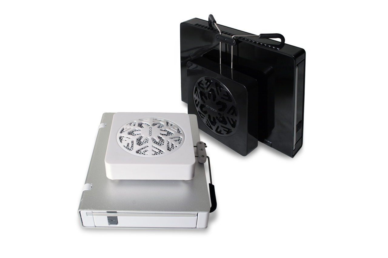 Icy Dock External Hard Drive Enclosure Cooler Fan